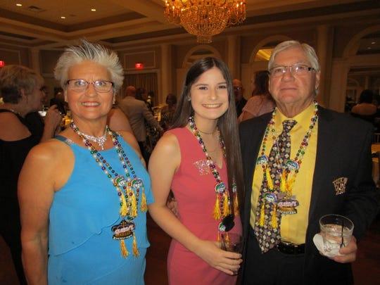 Peggy Guidroz, McKenzie Scott and Greg Guidroz