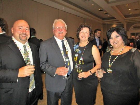 Chester Gordon, Paul and Cyndy Gibson and Tammy Gordon