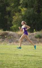 Fowlerville's Jenna Rigotti finished fourth in the CAAC Red jamboree with a time of 20:59.5 on Tuesday, Sept. 18, 2018.