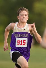 Zachary Curd was Fowlerville's No. 1 runner in its season-opening meet.