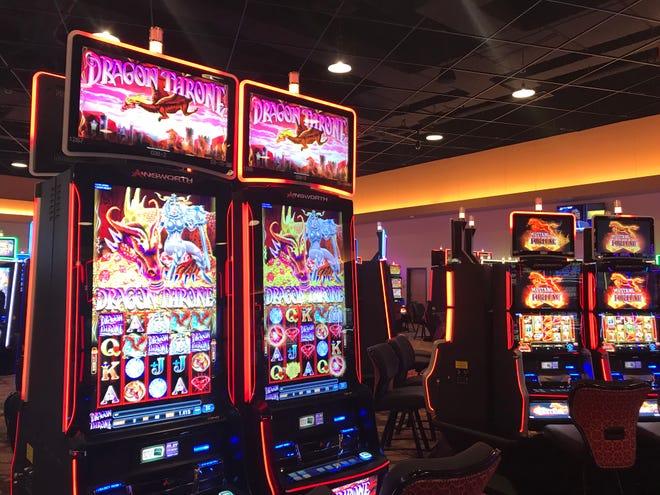 A look inside of Derby City Gaming in Louisville.