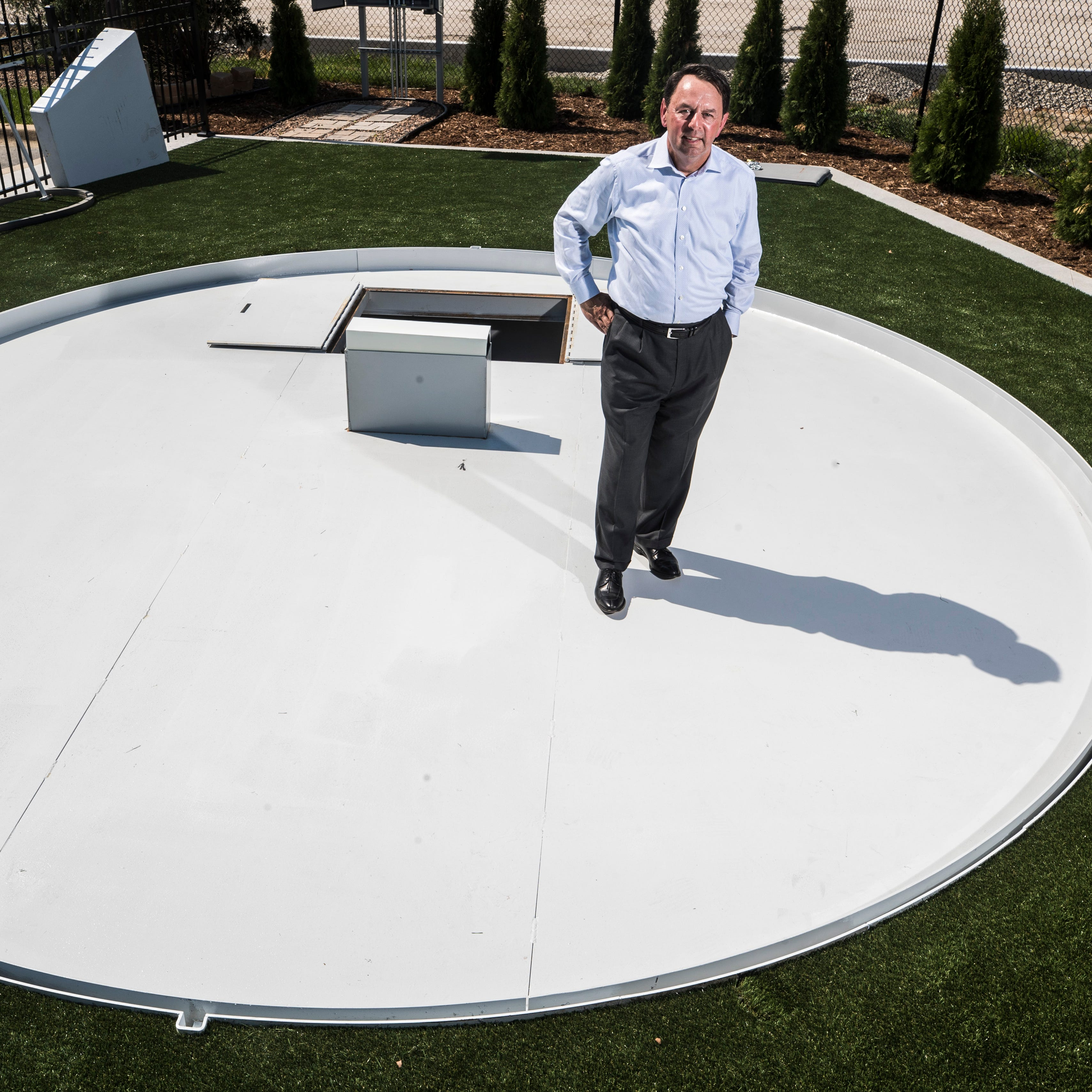 Former LouCity FC owner's invention solves problem of pitcher's mound