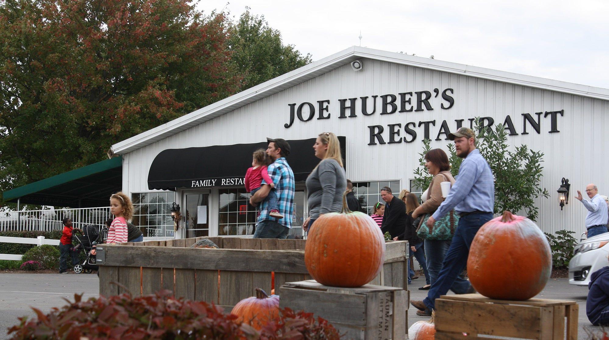 Joe Huber's Family Farm & Restaurant, a local landmark, to be sold