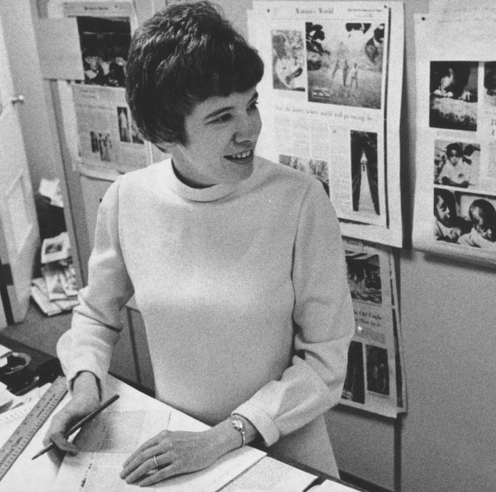 Courier Journal named first woman managing editor, then dropped her