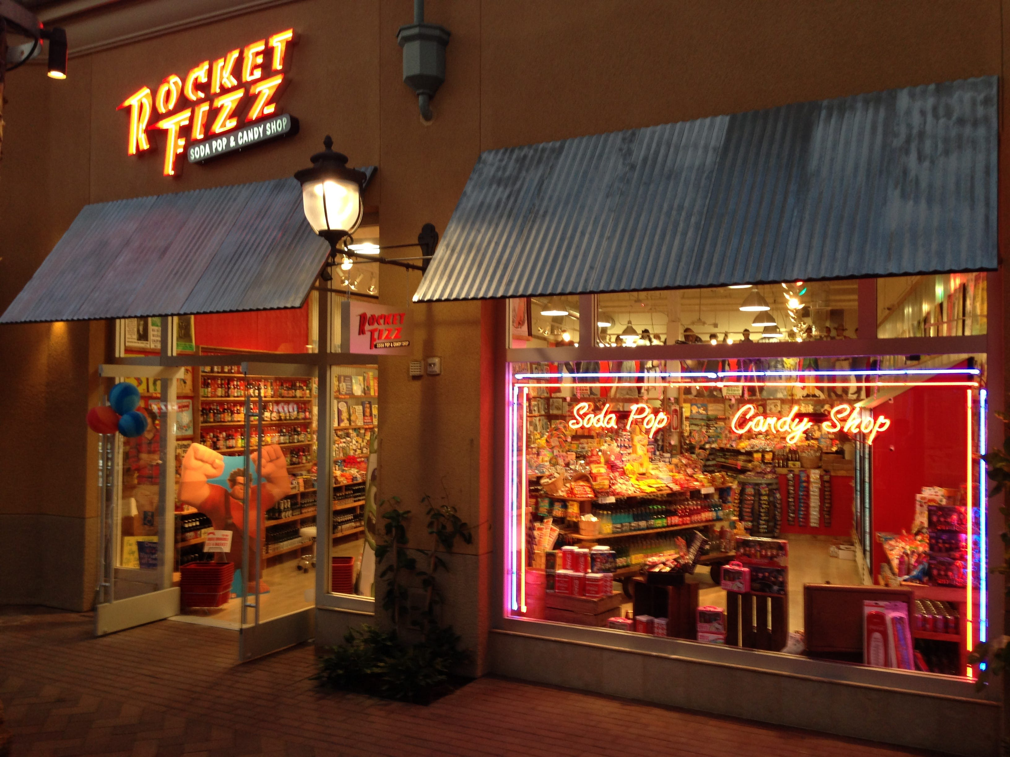 Exterior of a Rocket Fizz store in Irvine, California.