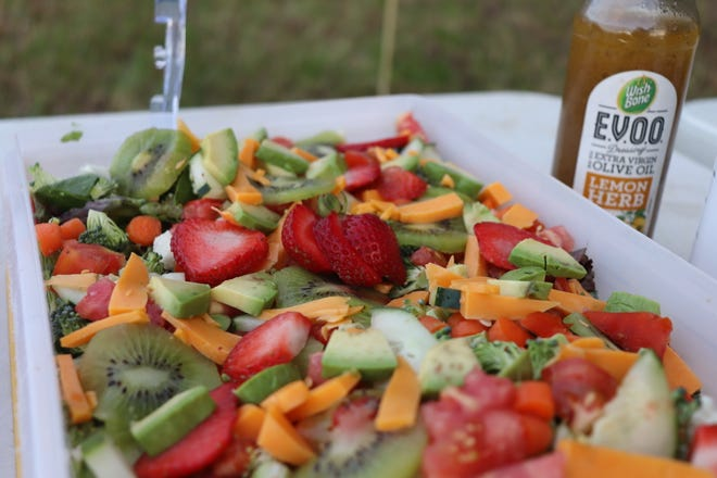 This autumn salad was served at Gloria's gathering. She shares the recipe in this week's column.