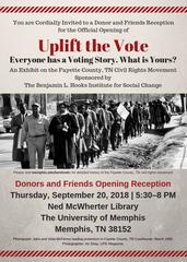 Uplift the Vote exhibit