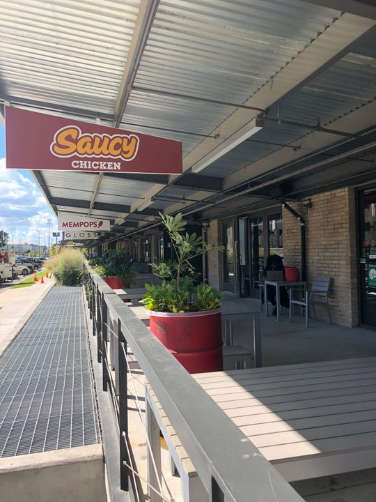 Saucy Chicken opened Sept. 17 at Crosstown Concourse.