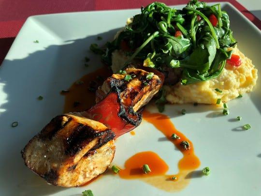 Lamorag's Piri Piri swordfish from the summer menu.