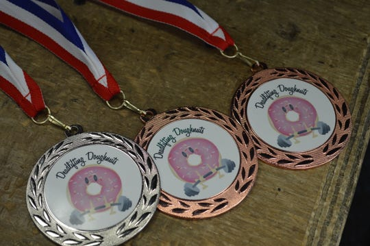 First, second and third place winners in each event will receive medals.