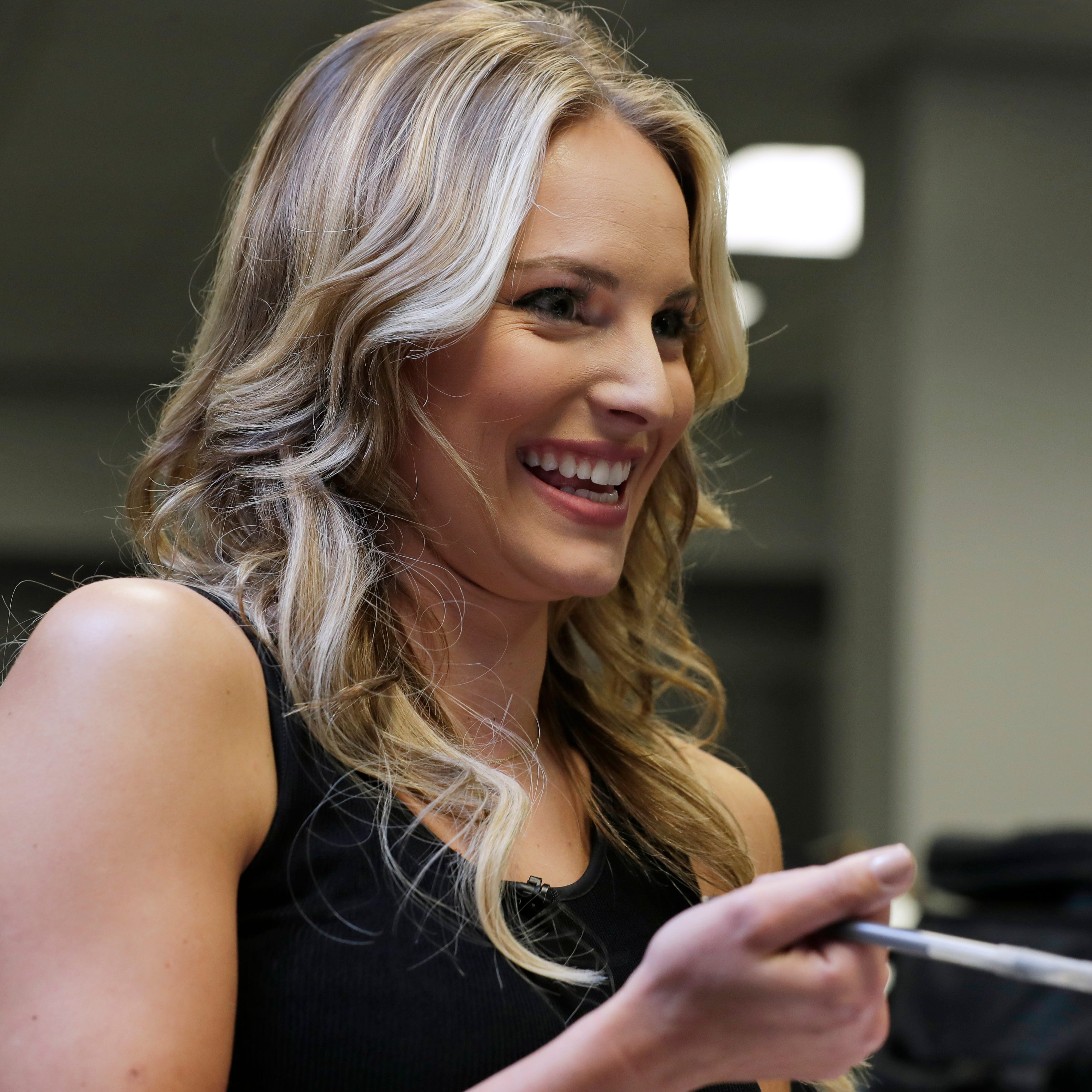 Bucks broadcaster Katie George blends athletic background, broadcast chops and national ambitions