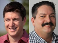 Randy Bryce, Bryan Steil tangle on attack ads in first debate for Paul Ryan's seat