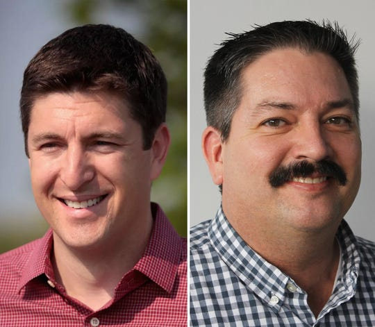 Republican Bryan Steil faced off Tuesday against Democrat Randy Bryce for the 1s Congressional District seat being vacated by House Speaker Paul Ryan.