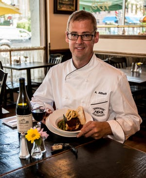 Andrew Althoff is the new chef at North Shore Boulangerie in Shorewood.