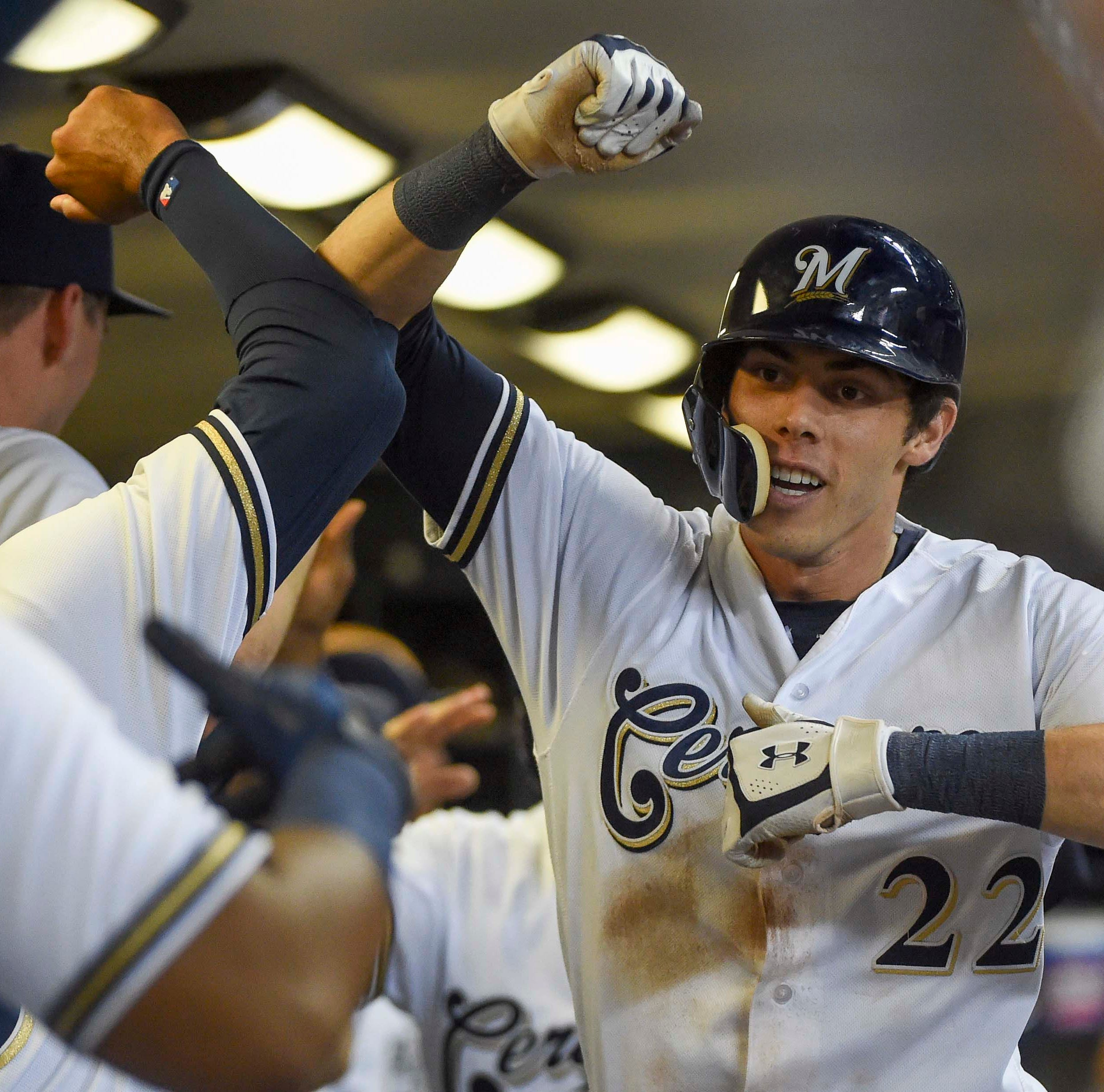After rare hitless game Sunday for Yelich, his manager thought Reds might be in trouble