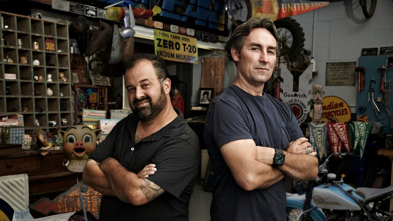 Mike Wolfe and Frank Fritz are returning with their American Pickers crew to Arkansas in November.