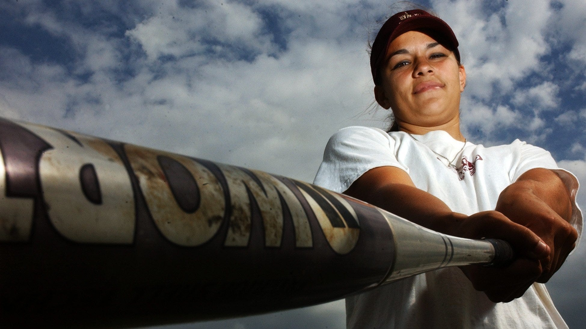 -  -ULM Softball slugger Casey Goodman has set the school RBI record and is closing in on the home run record. Goodman is pictured here Tuesday Mar. 25, 2003. MICHAEL DUNLAP/The News-Star / ftp=mdulmslugger0325.jpg