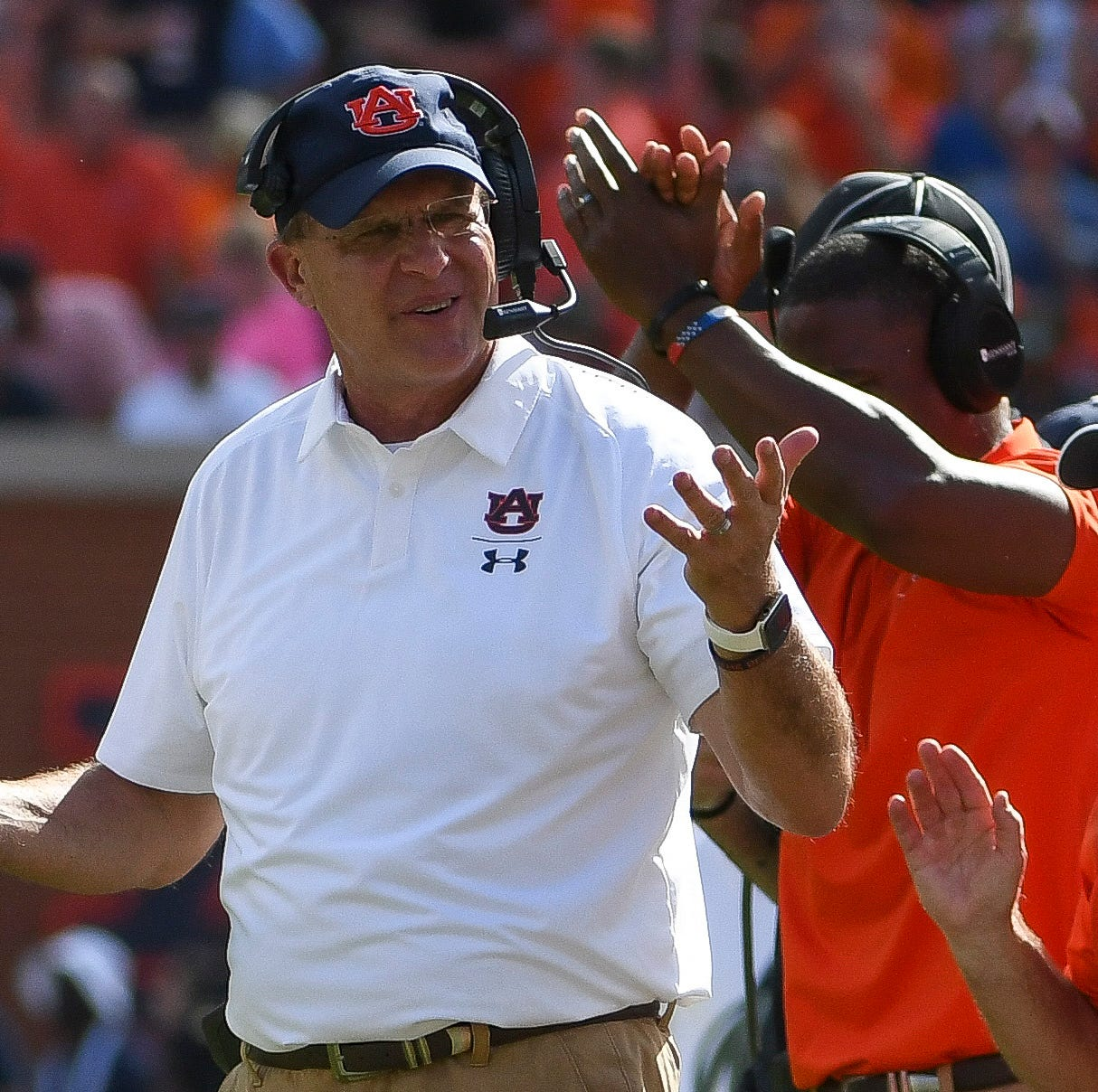 Gus Malzahn puts blame on himself for Auburn's penalty problems