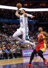 Jeff Taylor, Charlotte Hornets, last in the NBA in 2014-15