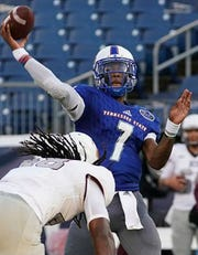 Minnesota transfer Demry Croft is expected to continue to share quarterbacking duties with Michael Hughes.