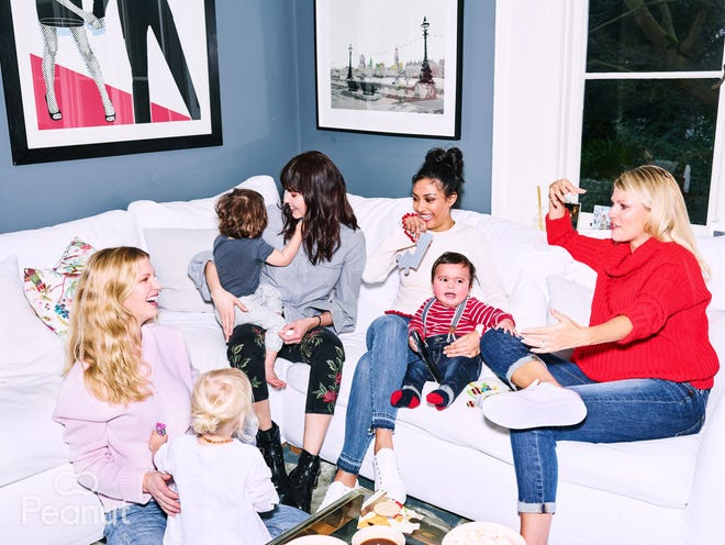 Peanut helps brings mamas together who share common interests and values.