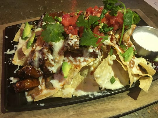 Short rib nachos at Saint Anejo on M Street