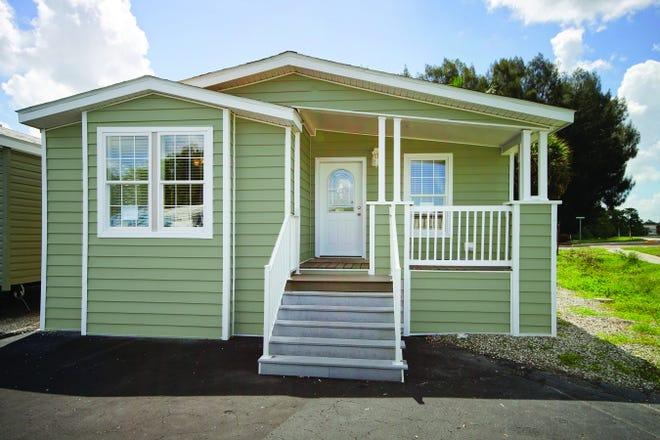 LeeCorp Homes Regatta model.