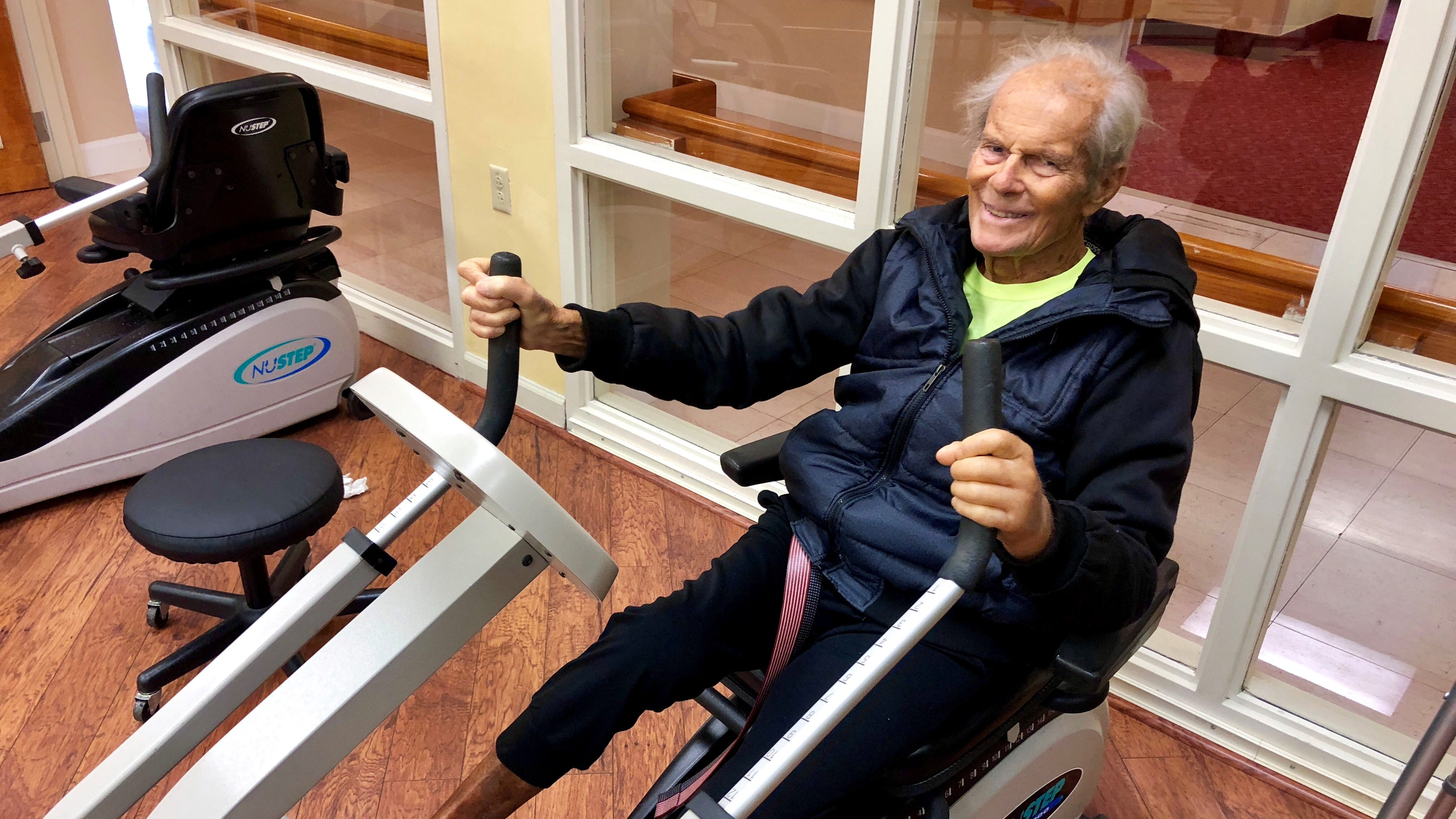 Roy Haase, who is 93 years old, is recovering aftercontractingVibrio vulnificuswhileswimmingatDelnor-Wiggins Pass State Park.