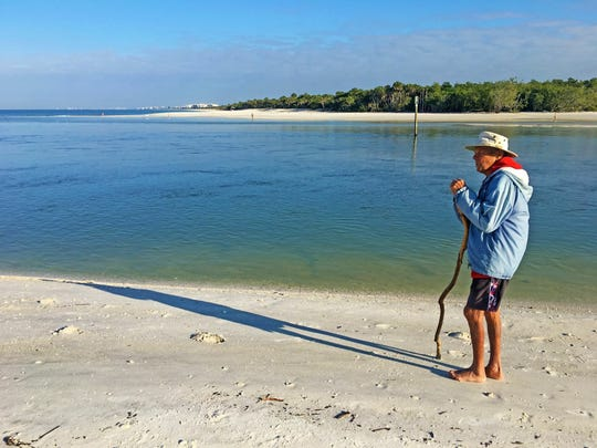 Roy Haase, a 93-year-old resident of North Naples, visited and enjoyed the beach at Delnor-Wiggins Pass State Park almost every day for the past 20 years prior to contracting Vibrio vulnificus. He has been recovering since August.
