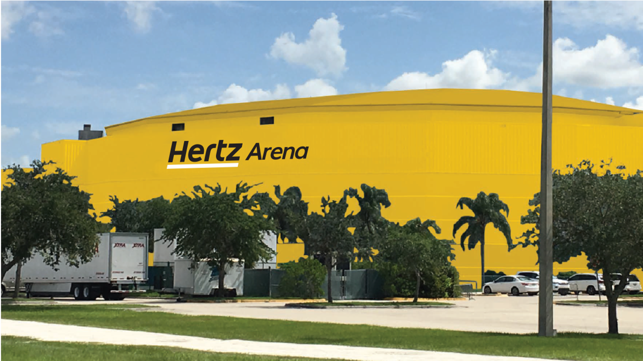 Hertz drives ahead with plan to paint hockey arena 'sunny' yellow despite opposition