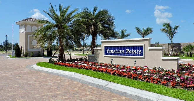Venetian Pointe is a gated community of custom estate villas with prices starting in the high-$200s.