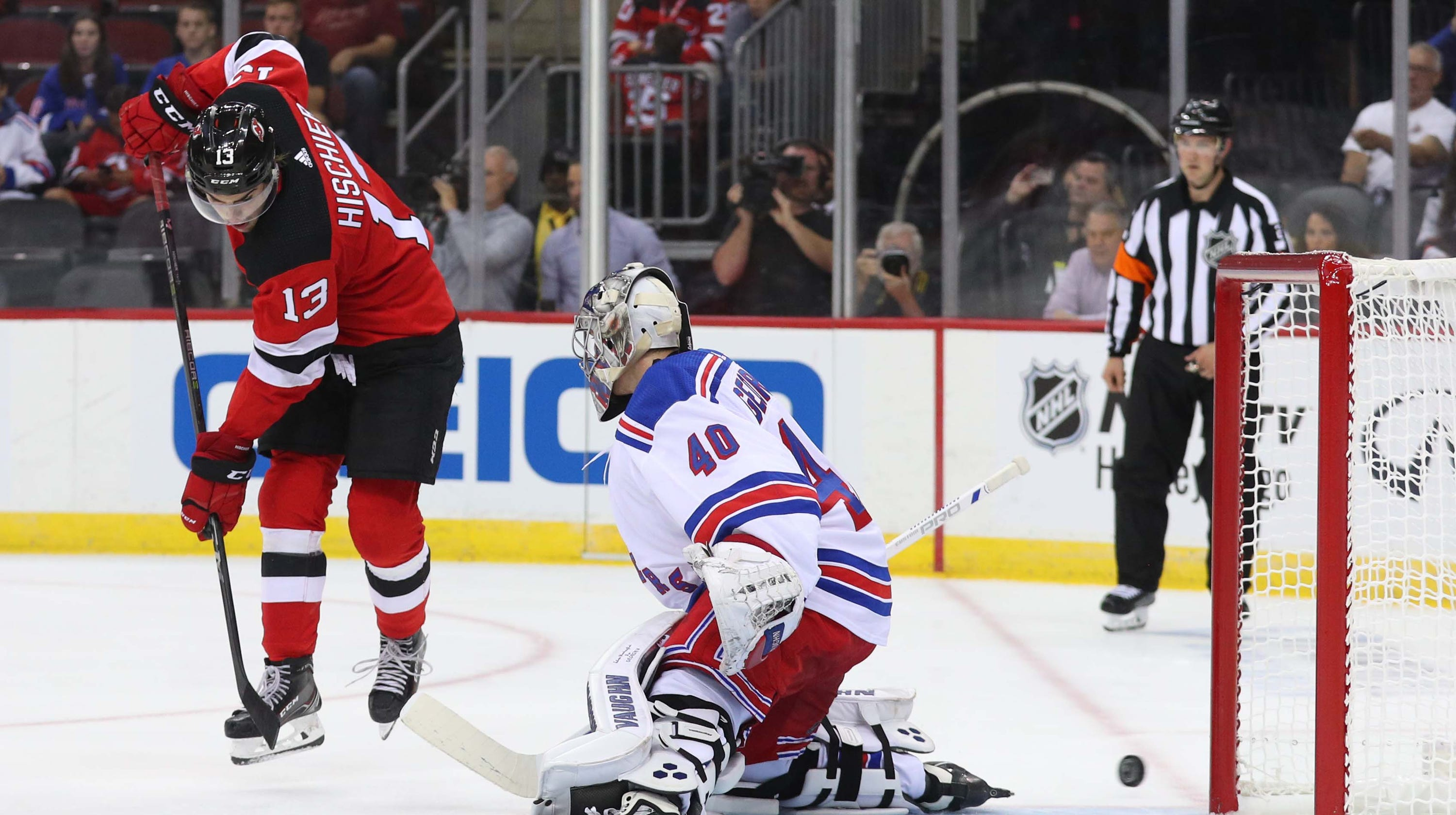 How they line up  Projected lineups for NJ Devils and Rangers 3744ee7fd