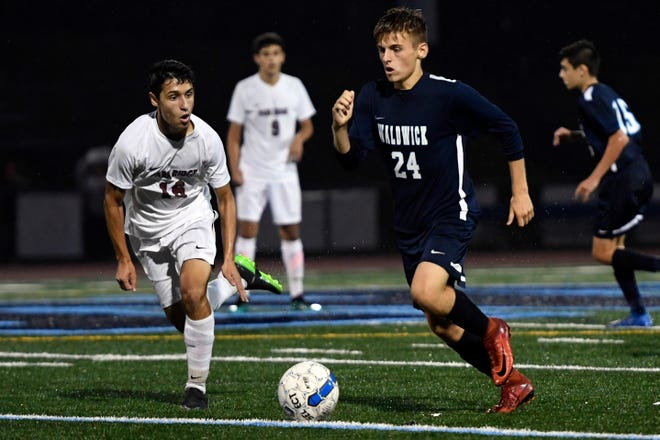 Waldwick's Lucas Ruehlemann (24) has been named a captain for the upcoming season.