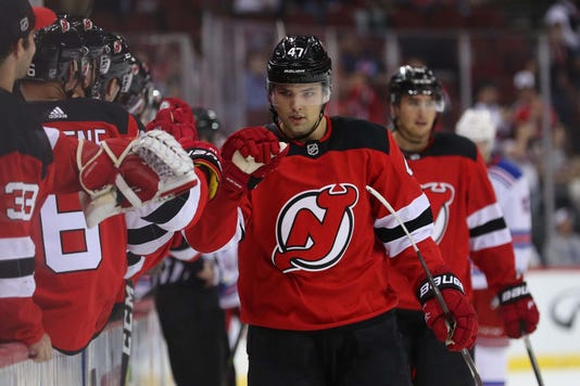 Nhl Preseason New York Rangers At New Jersey Devils