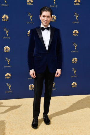 LOS ANGELES, CA - SEPTEMBER 17:  Michael Zegen attends the 70th Emmy Awards at Microsoft Theater on September 17, 2018 in Los Angeles, California.  (Photo by Frazer Harrison/Getty Images)