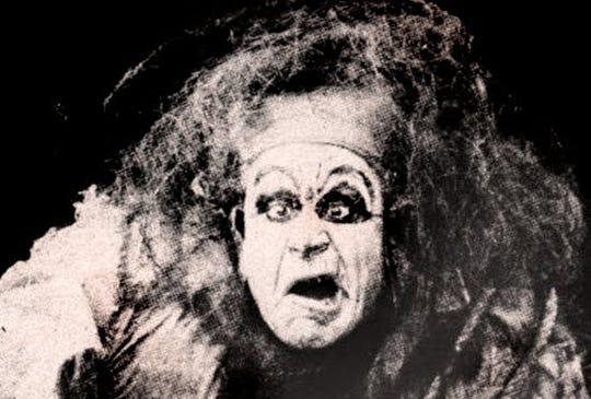 """Charles Ogle as the monster in Edison's """"Frankenstein"""""""