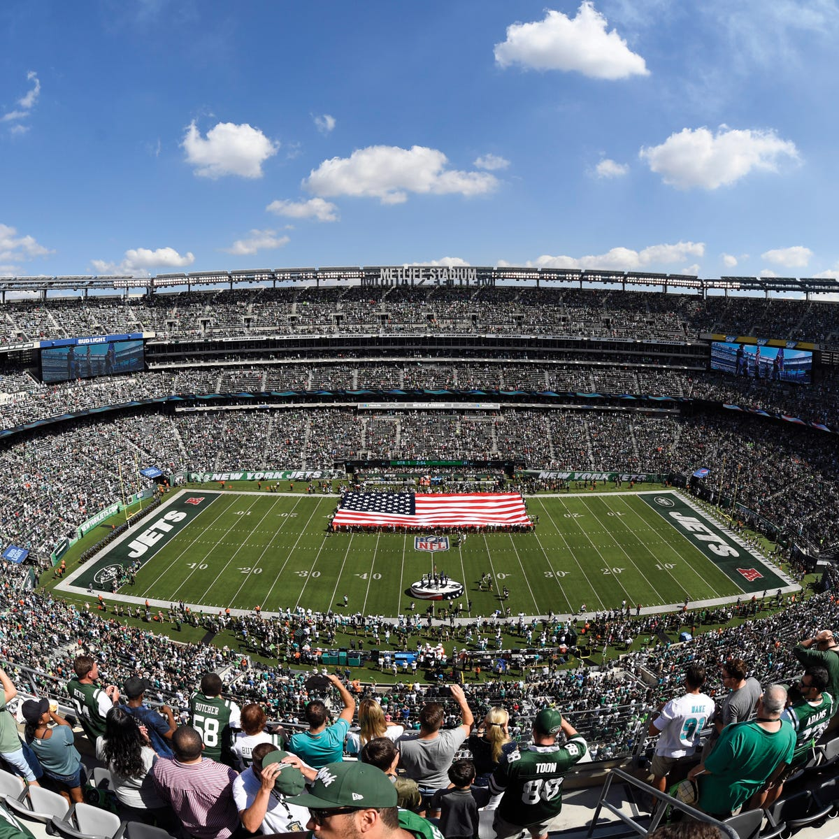 Muslim Americans will gather for prayers at MetLife Stadium in