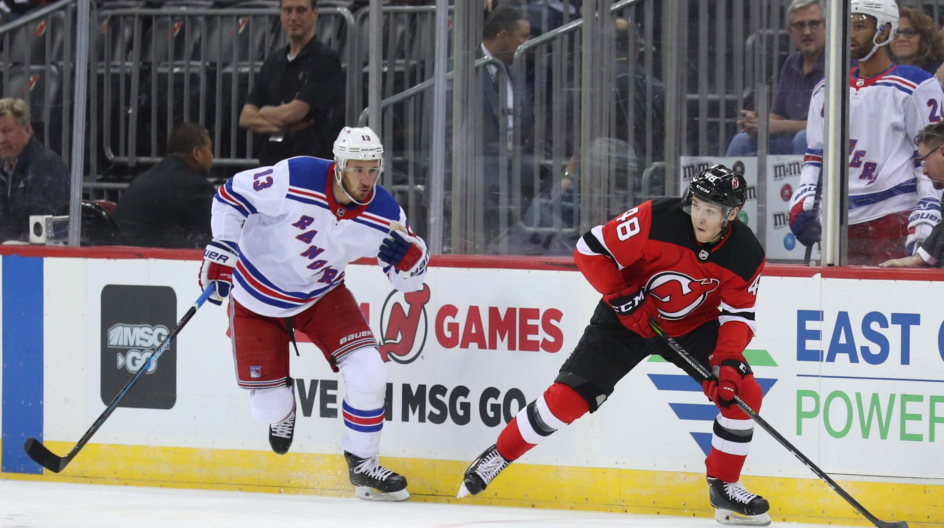 buy popular aa869 9045e What NJ Devils' Ty Smith learned in first professional ...