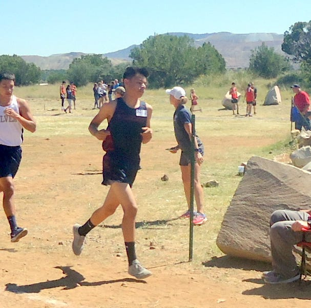Deming High runners compete at Cobre cross country meet in Bayard, NM