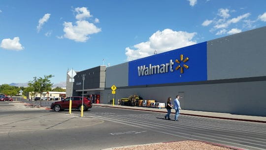 Walmart is seen at 571 Walton Blvd. in Las Cruces on Friday, Sept. 14, 2018.