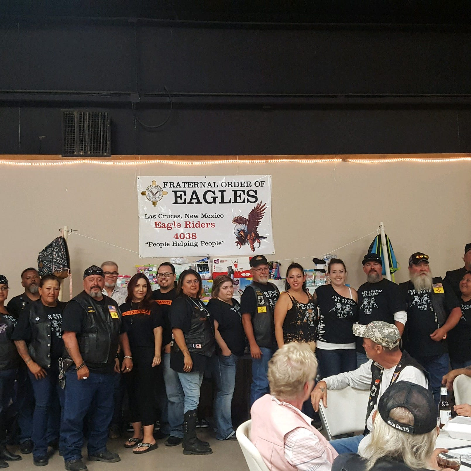 Fraternal Order of Eagles New Mexico and Arizona chapters make donation to CYFD