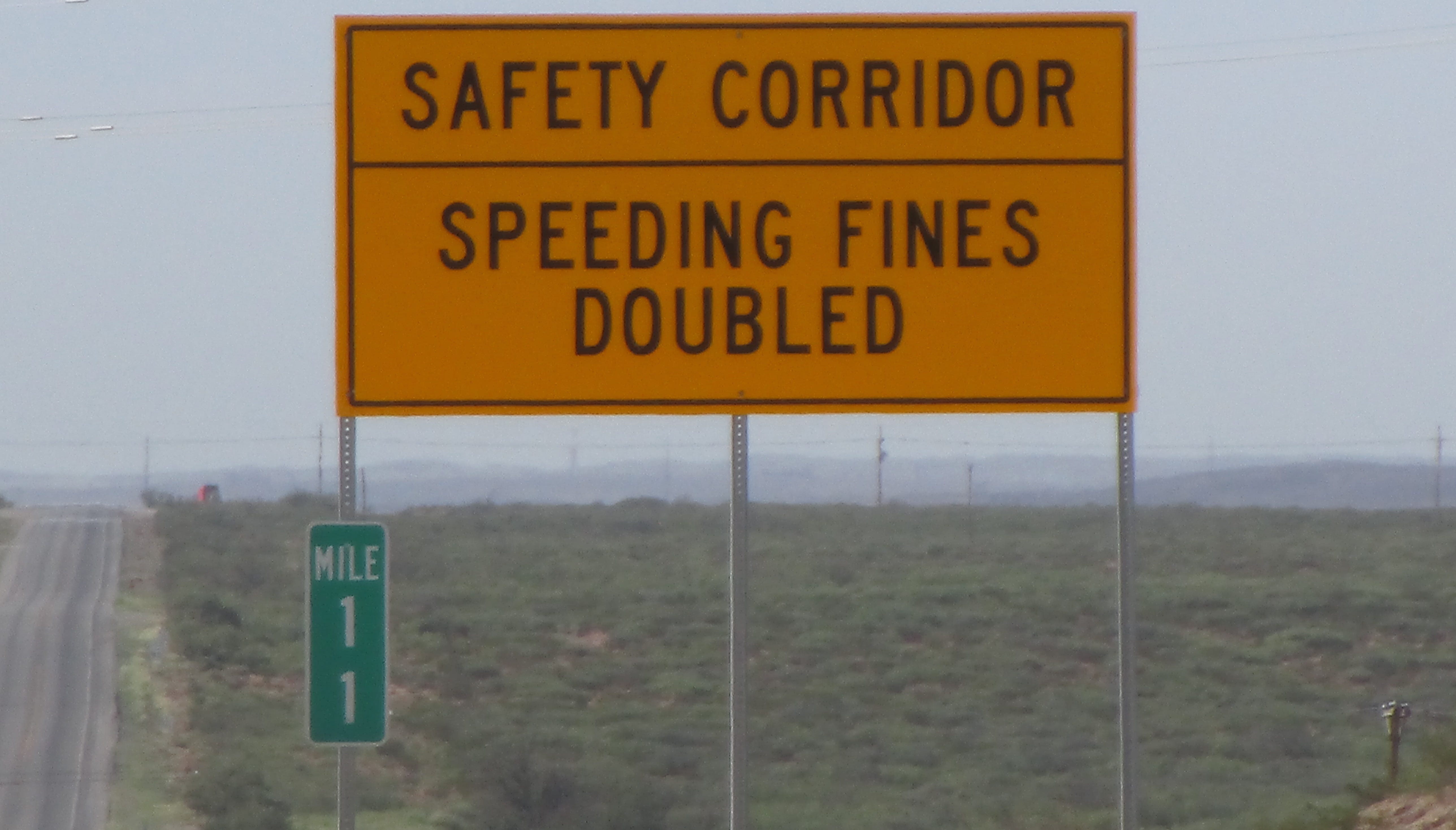 In 2018 a safety corridor was established along the 20-mile stretch of Highway 285 to correct dangerous driving conditions that resulted in numerous accidents and fatalities.