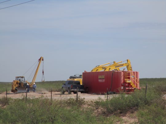 Construction along U.S. 285 includes the burial of pipeline south of Malaga, New Mexico. The Eddy County Sheriff's office conducted an operation Dec. 12 targeting alleged thefts and burglaries in the oilfields of Eddy County.