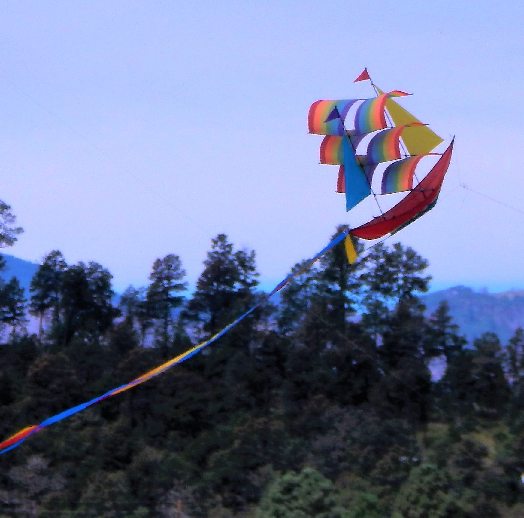 Kites will soar among the winds in the Sacramento Mountains