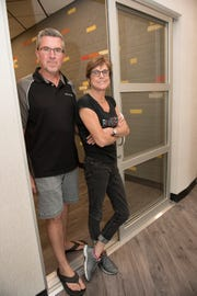 Greg and Sue Mac of Milford own the Farmington Hills franchise for My Salon Suite.