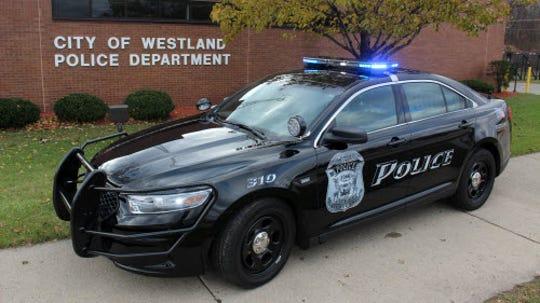 Westland police patrol vehicle