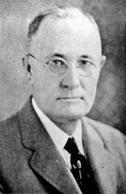 T.H. Harris later in life when he served as the Louisiana School Superintendent (1908-1940)