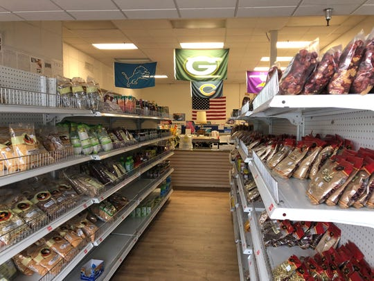 Owner Muhammad Azhar established his grocery store about seven months ago at its former location on Koeller Street.