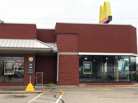 The McDonald's off Koeller Street closed its lobby for remodeling, but its drive-thru is still open through the process.