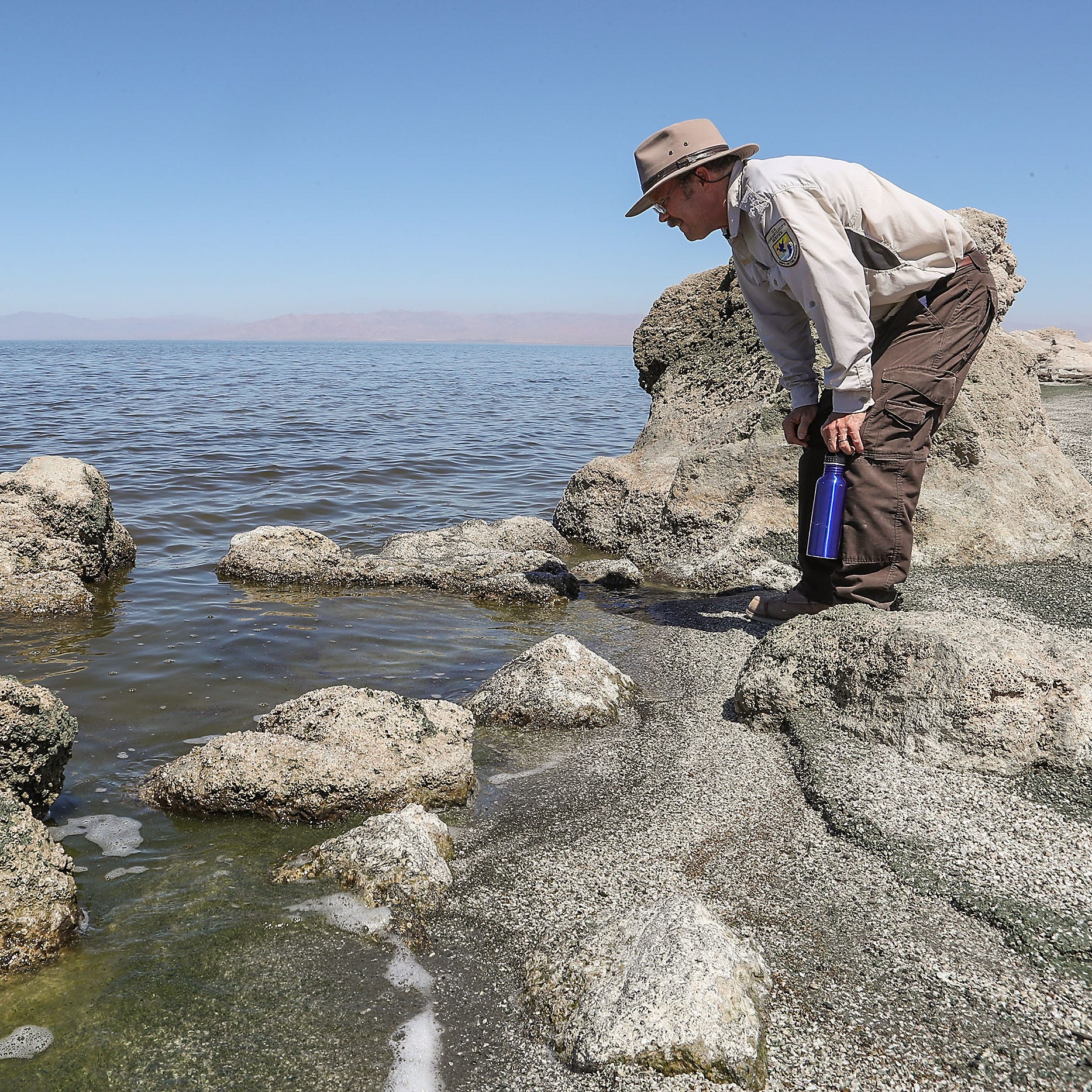 The Salton Sea is shrinking even faster, and California still hasn't done much to fix it